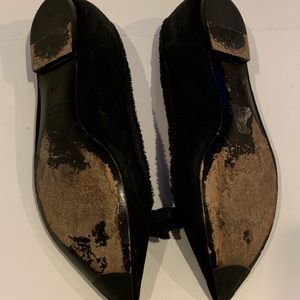 Marc By Marc Jacobs Shoes - Marc Jacobs black suede flats with bow